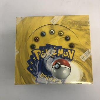 Pokemon Base Set 1 Unlimited Booster Box WOTC - CRISP