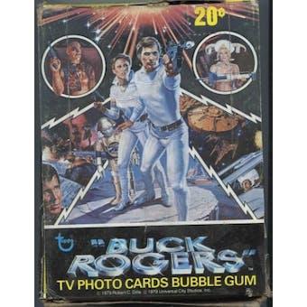 Buck Rogers Wax Box (1979 Topps)