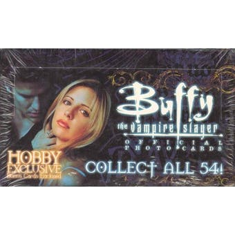 Buffy The Vampire Slayer Official Photo Cards Box (1999 Inkworks)