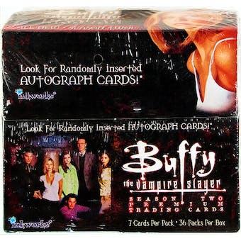Buffy The Vampire Slayer Season 2 Hobby Box (1999 InkWorks)