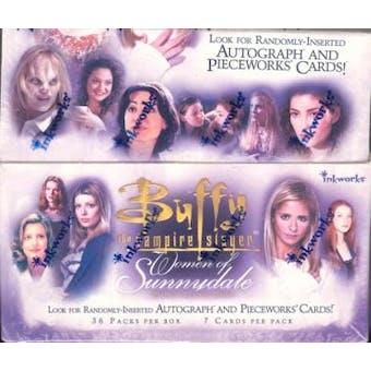 Buffy The Vampire Slayer Women of Sunnydale Hobby Box (InkWorks)