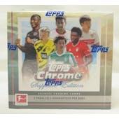 2020/21 Topps Chrome Bundesliga Sapphire Edition Soccer Hobby Box