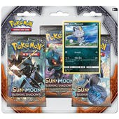 Pokemon Sun & Moon: Burning Shadows 3 Booster Pack Blister