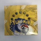 Pokemon Base Set 1 Unlimited Booster Box WOTC - SHARP