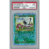 Pokemon Legendary Collection Reverse Foil Butterfree 21/110 PSA 9
