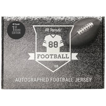 2021 Hit Parade Auto 1st Round Ed Football Jersey 1-Box Series 2- DACW Live 8 Spot Random Division Break #1