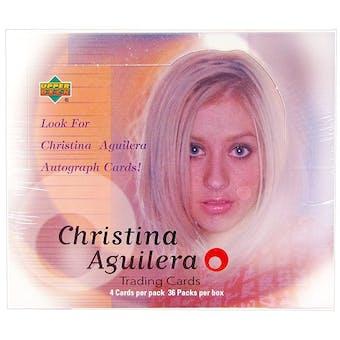 2000 Upper Deck Christina Aguilera Hobby Box