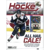 2020 Beckett Hockey Monthly Price Guide (#330 Febuary) (Cale Makar)