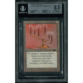 Magic the Gathering Antiquities Candelabra of Tawnos BGS 8.5 (8, 9, 9, 9.5)