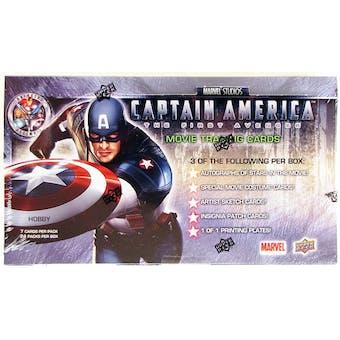 Marvel Captain America Trading Cards Hobby Box (Upper Deck 2011)