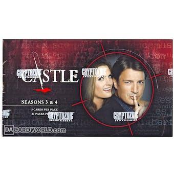 Castle Seasons 3 & 4 Trading Cards Hobby Box (Cryptozoic 2014)