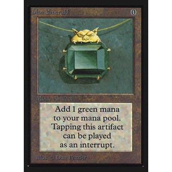 Magic the Gathering Beta Collector's Edition CE IE Single Mox Emerald NEAR MINT (NM)
