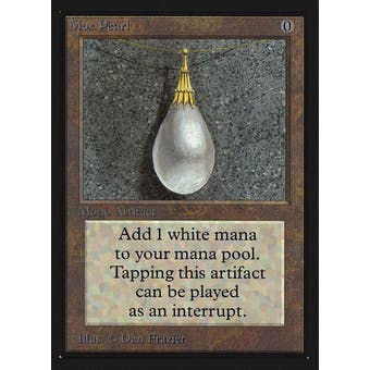 Magic the Gathering Beta Collector's Edition CE IE Single Mox Pearl MODERATE PLAY (MP)