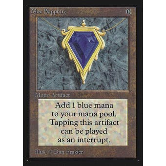 Magic the Gathering Beta Collector's Edition CE IE Single Mox Sapphire NEAR MINT (NM)