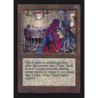 Magic the Gathering Beta Collector's Edition CE IE Single Time Vault NEAR MINT (NM)