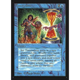 Magic the Gathering Beta Collector's Edition CE IE Single Timetwister NEAR MINT (NM)