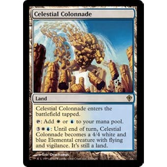 Magic the Gathering Worldwake Single Celestial Colonnade - SLIGHT PLAY (SP) Sick Deal Pricing