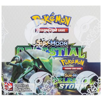 Pokemon Sun & Moon: Celestial Storm Booster Box