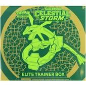 Pokemon Sun & Moon: Celestial Storm Elite Trainer Box (Slight Damage)
