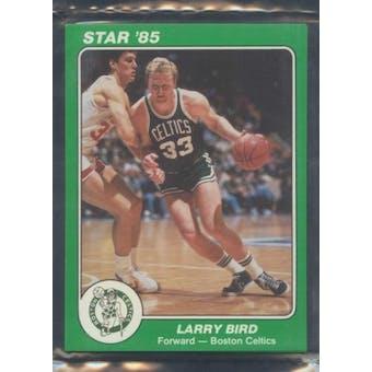1985 Star Co. Basketball 5x7 Celtics Bagged Set