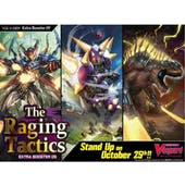Cardfight!! Vanguard V: The Raging Tactics Extra Booster Box (Presell)