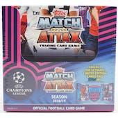 2018/19 Topps UEFA Champions League Match Attax Soccer Box