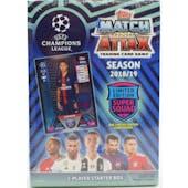 2018/19 Topps UEFA Champions League Match Attax Soccer Starter Deck