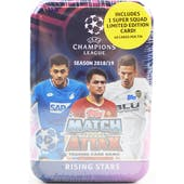 2018/19 Topps UEFA Champions League Match Attax Soccer Midi Tin