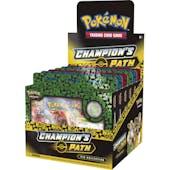 Pokemon Champion's Path Pin Collection Set 1 Box (Presell)