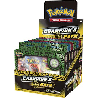 Pokemon Champion's Path Pin Collection Series 1 Box