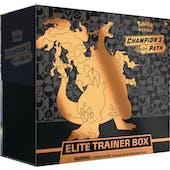 Pokemon Champion's Path Elite Trainer 10-Box Case (Presell)