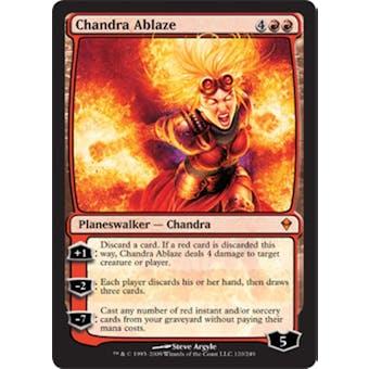 Magic the Gathering Zendikar Single Chandra Ablaze Foil