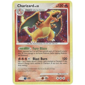 Pokemon EX D&P Secret Wonders Single Charizard 3/132 - SLIGHT PLAY (SP)