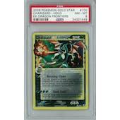 Pokemon EX Dragon Frontiers Charizard Gold Star 100/101 PSA 8