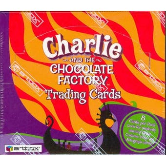 Charlie and the Chocolate Factory Hobby Box (2005 Artbox)