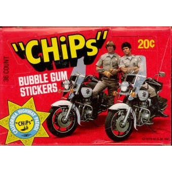 CHiPs Wax Box (1977 Donruss)