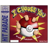 "2021 Hit Parade Pokemon ""I Choose You"" Series 2 Hobby 10-Box Case (Presell)"