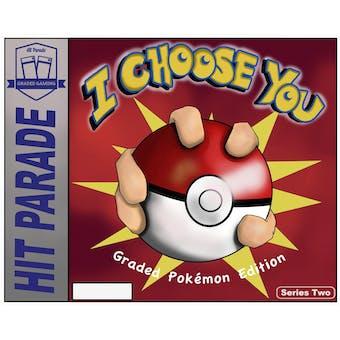 "2021 Hit Parade Pokemon ""I Choose You"" Series 2 Hobby Box"