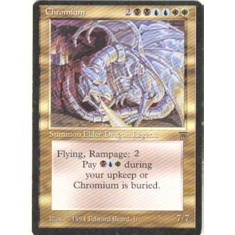 Magic the Gathering Legends Single Chromium - SLIGHT PLAY (SP) Sick Deal Pricing