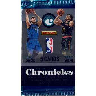 2018/19 Panini Chronicles Basketball Blaster Pack