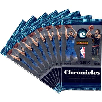2018/19 Panini Chronicles Basketball Blaster Pack (Lot of 8) = 1 Blaster Box