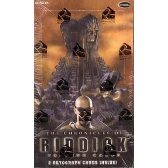 The Chronicles of Riddick Trading Cards Box (Rittenhouse 2004)