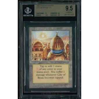 Magic the Gathering Arabian Nights City of Brass BGS 9.5 (9, 9.5, 9.5, 9.5)