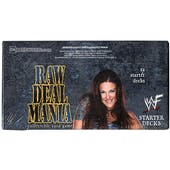 Comic Images WWE Raw Deal Mania Wrestling Starter Deck Box