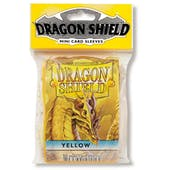Dragon Shield Yu-Gi-Oh! Size Card Sleeves - Yellow (50 Ct. Pack)