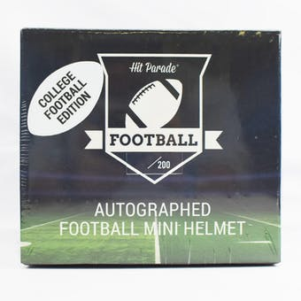 2020 Hit Parade Auto College Football Mini Helmet 1-Box Series 1- DACW Live 6 Spot Random Break #1