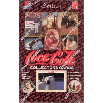 Coca-Cola Series 1 Box (1993 Collect-A-Card)