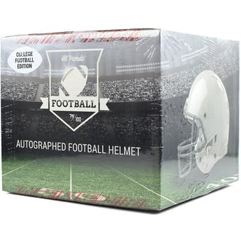 2018 Hit Parade Autographed Full Size College Football Helmet Hobby Box - Series 5 - B. Sanders & Pat Mahomes!
