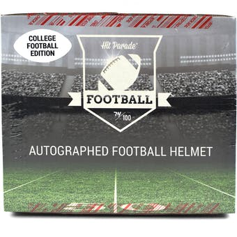 2021 Hit Parade Auto FS College Football Helmet 1-Box Ser 1- DACW Live 8 Spot Random Division Break #1