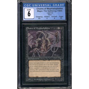 Magic the Gathering Legends Chains of Mephistopheles CGC 6